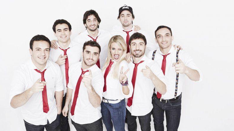 Los integrantes de Agapornis consideran que hacen cumbia pop para divertir a la gente