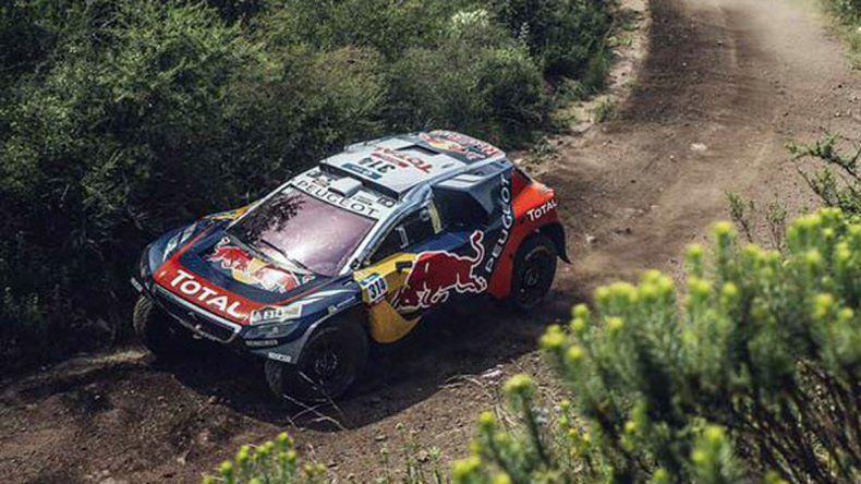 Loeb, imparable: se quedó con la tercera etapa y lidera la general