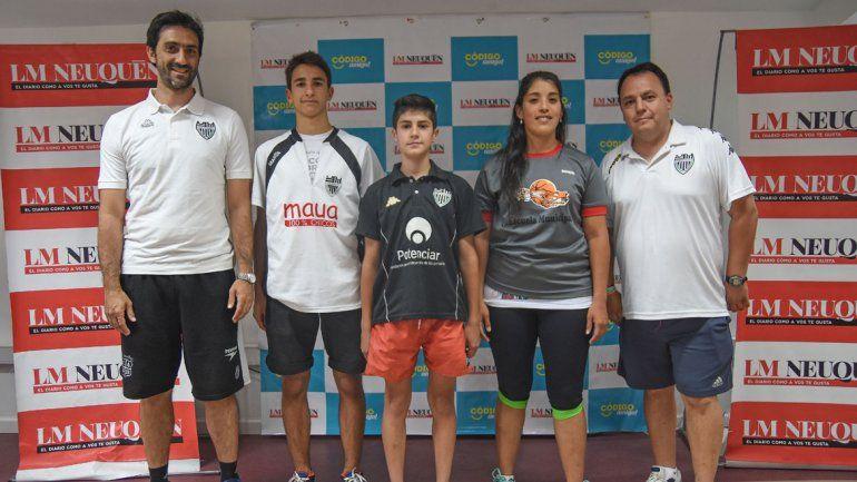 Los deportistas regionales despidieron el 2015 junto a LM Neuquén.