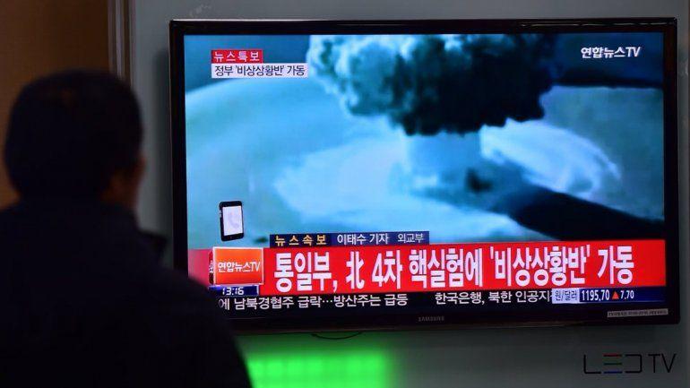 Corea del Norte probó por primera vez una bomba de hidrógeno