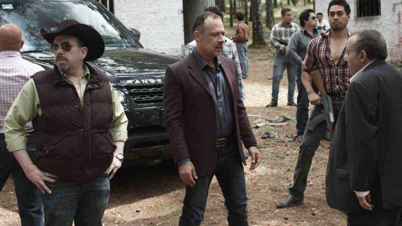 Irineo Álvarez es el actor que se pone en la piel del líder del cártel de Sinaloa.