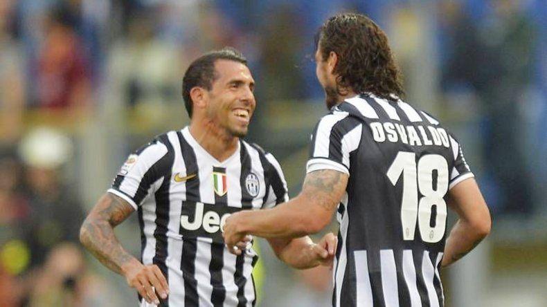 En la Juventus de Italia se entendieron bien y forjaron amistad.