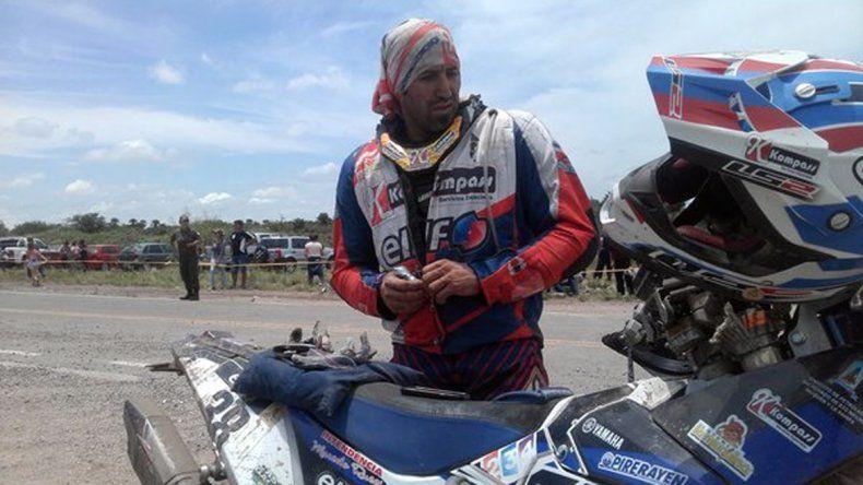 Esteban López Jové quedó afuera del Dakar.