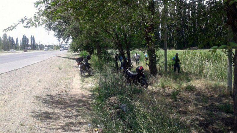 Atraparon a dos motochorros que habían asaltado a una joven que esperaba el colectivo