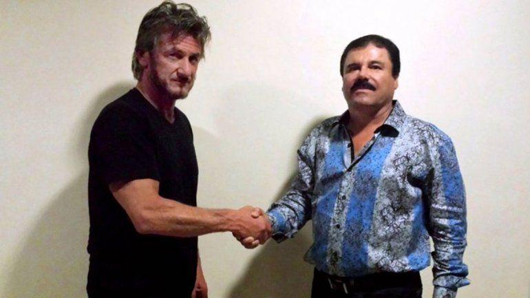 Difundieron parte de la entrevista de Sean Penn al Chapo Guzmán