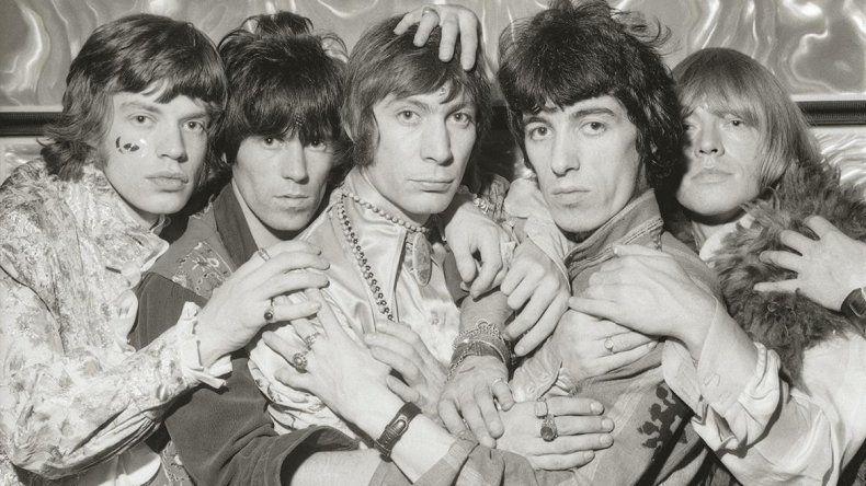 Sesión de fotos del disco Sus majestades satánicas (1967).