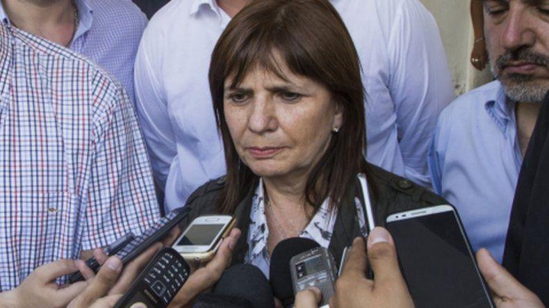 Bullrich: La misión es que el narcotráfico no maneje el poder