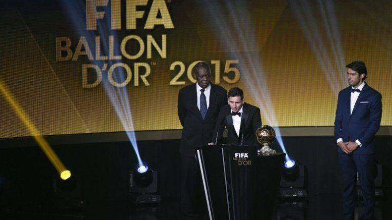 Histórico: Messi ganó su quinto Balón de Oro