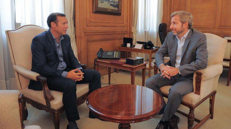 La ley de Coparticipación, eje del encuentro entre Gutiérrez y el ministro Rogelio Frigerio