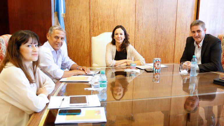 El encuentro se realizó esta tarde en Buenos Aires.