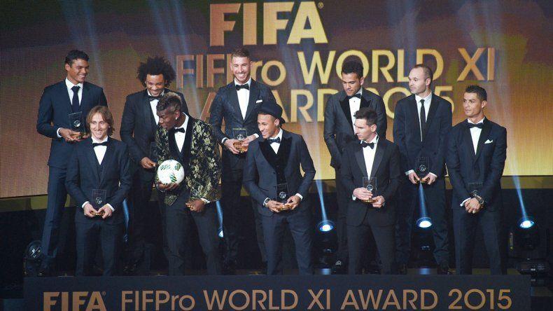 El once ideal de la FIFA: Neuer