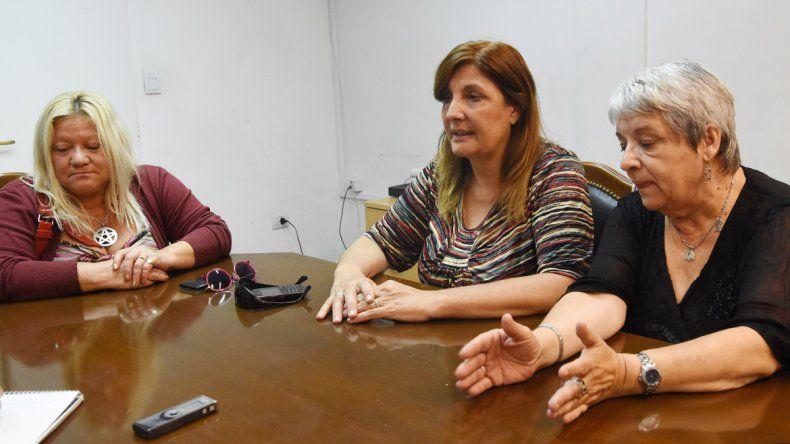 Las representantes de los trabajadores denuncian parálisis en el ISSN.