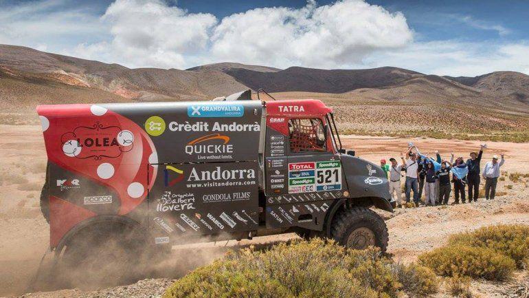 Se corre la novena etapa del Dakar, una de las más difíciles