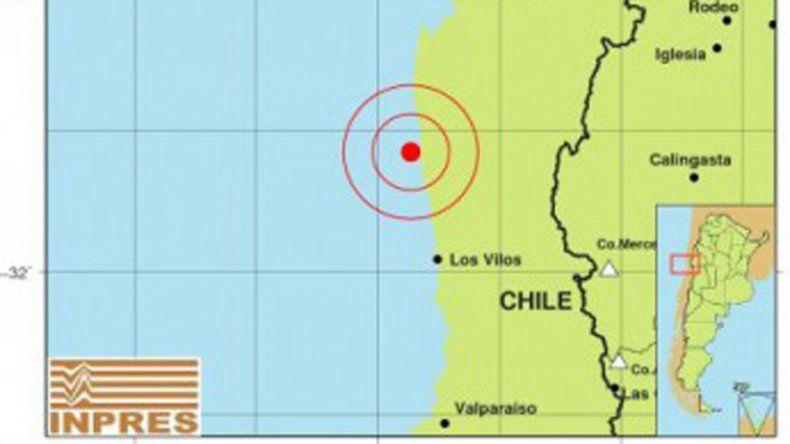 Un fuerte sismo sacudió Mendoza