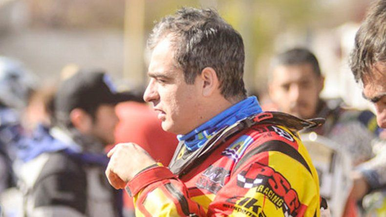 Pablo Copetti se vio obligado a abandonar el rally.