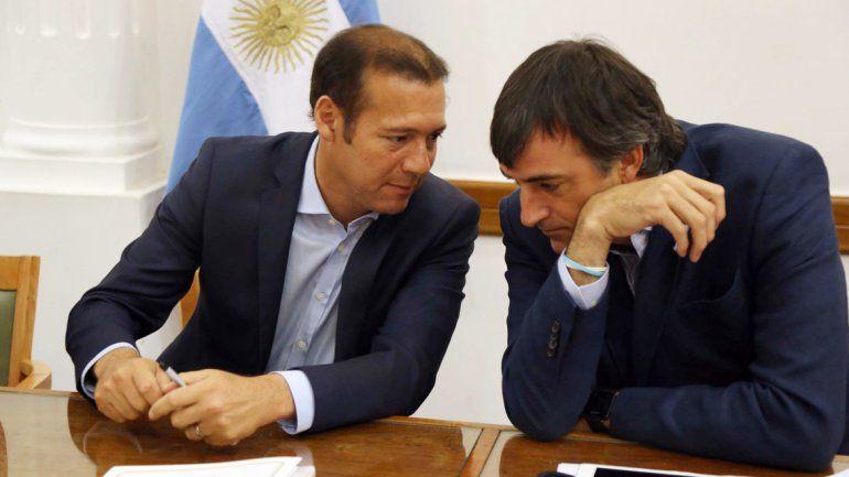 Gutiérrez y Bullrich se reunieron ayer con los ministros provinciales en la Gobernación.