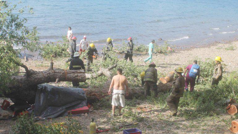 En las playas de Lolen y Catritre los campings continuarán cerrados.