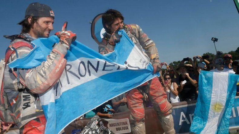 Marcos Patronelli ganó su tercer rally Dakar