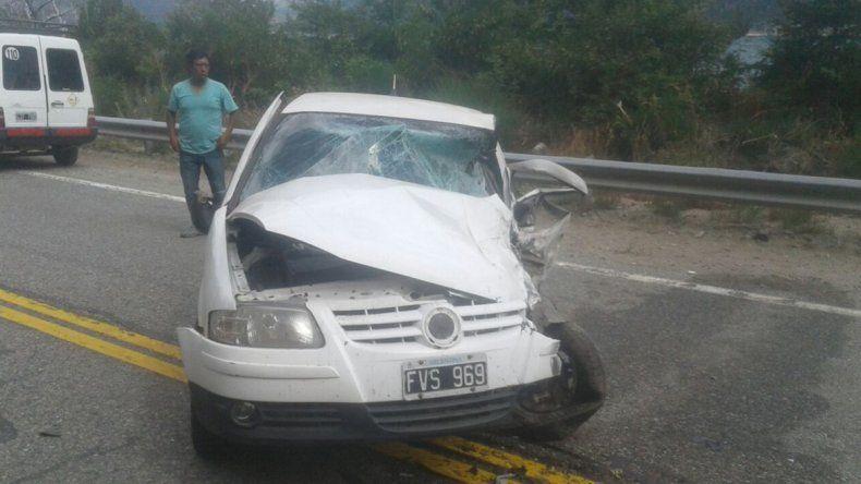 Un hombre se encuentra grave tras un choque en la Ruta 40
