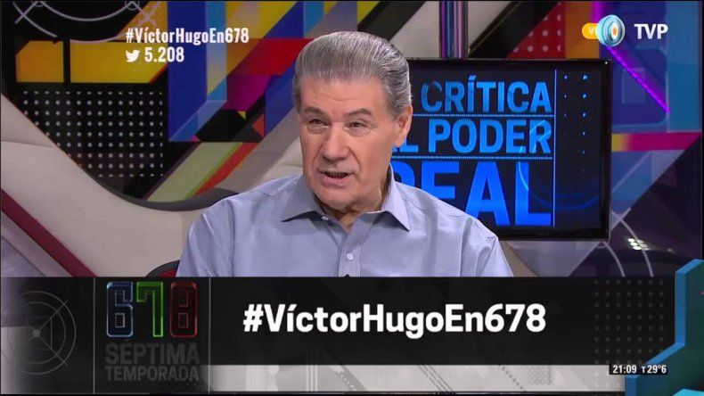 Morales dijo que la vuelta de 678 a la TV Pública demostraría pluralismo.