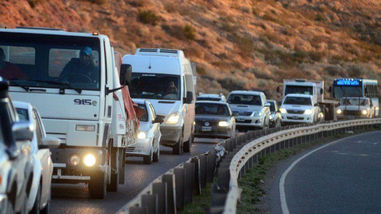 El tránsito constante por la Ruta 7 circulará más seguro cuando la obra esté finalizada. Habrá cuatro carriles.