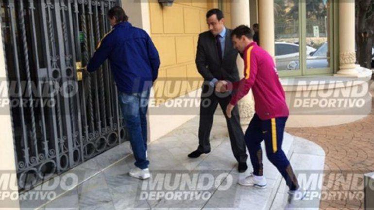 Messi se hizo estudios médicos por sus molestias