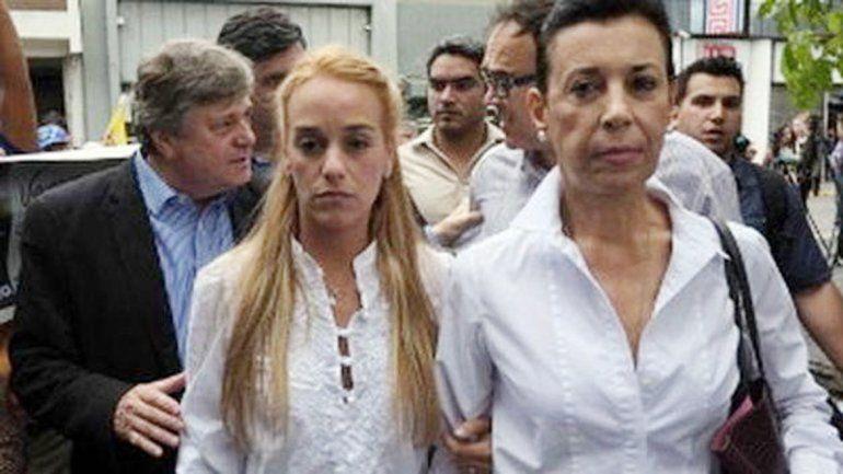 Lilian Tintori y Antonieta Mendoza