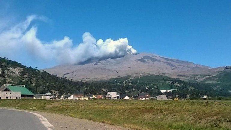 El volcán Copahue está en alerta amarilla desde el 2012.