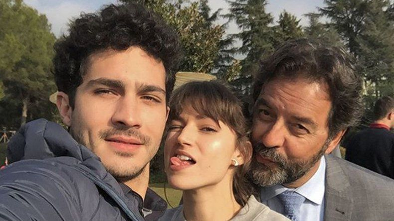 ¿Chino Darín está de novio con una actriz española?