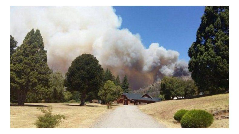 Se incendian más de 100 hectáreas en el Parque Nacional Los Alerces