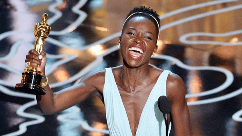 Lupita Nyongo fue la última actriz en recibir un Oscar en 2013 en la categoría Mejor actriz de reparto por 12 años de esclavitud.