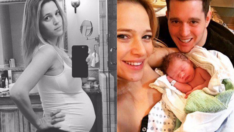 Nació el segundo hijo de Luisana Lopilato y Michael Bublé