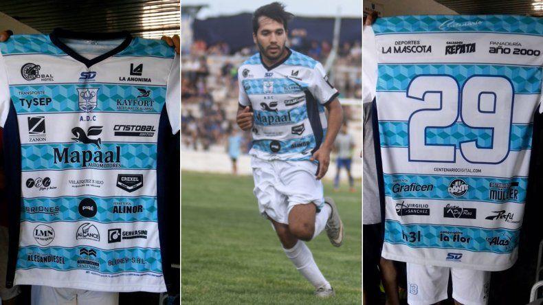 Centenario tiene una camiseta récord con 32 publicidades