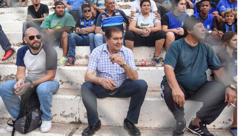 El líder petrolero Guillermo Pereyra y el intendente de Rincón de los Sauces