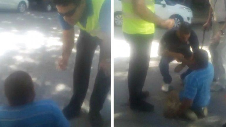 Inspectores de tránsito no le creyeron que era paralítico y lo obligaron a arrastrarse