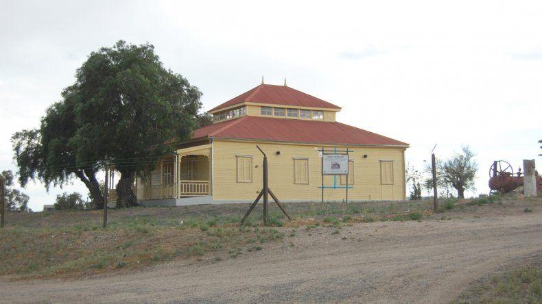 El museo municipal y la casa en la que vivió el ingeniero Jacobacci