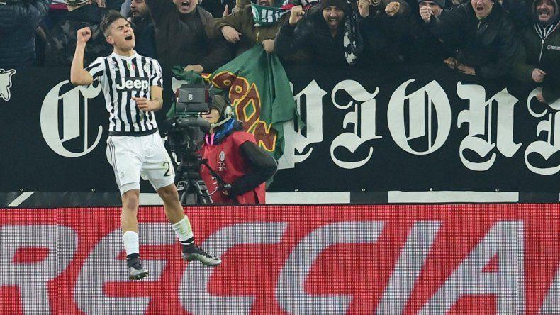 Paulo Dybala no defrauda en su primera temporada en Juventus.