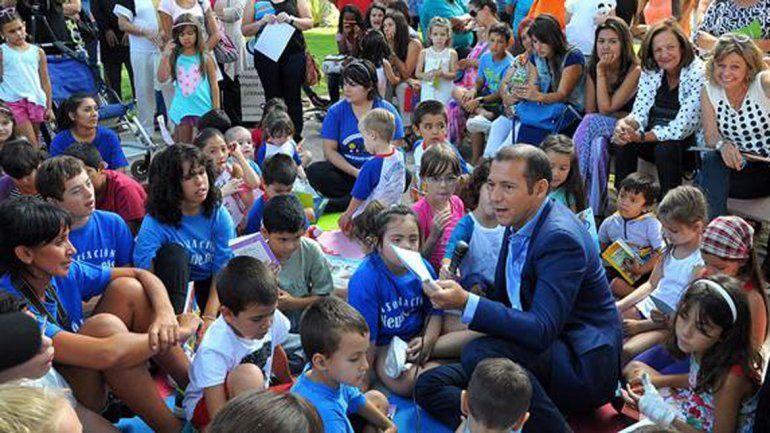 El gobernador participó de la actividad.