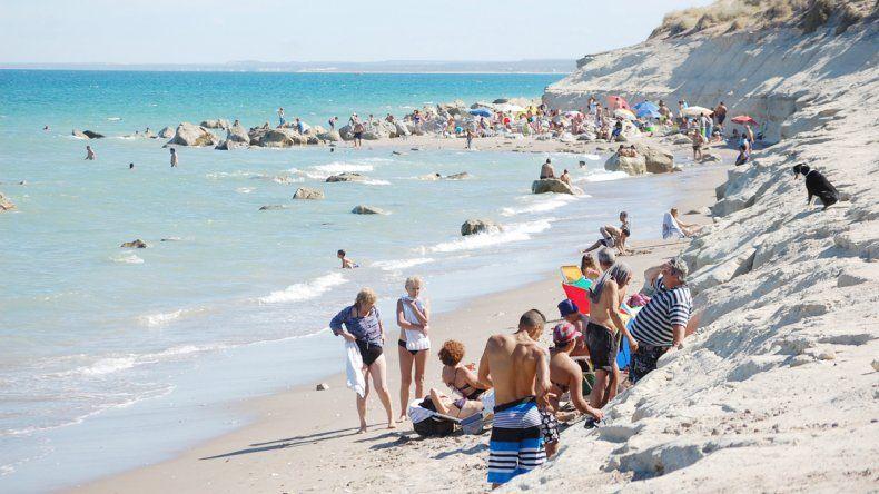A Terraza del Mar se puede llegar en auto o caminando por la playa