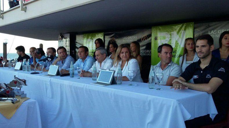 Gutiérrez participó de la presentación del Turismo Carretera 2016