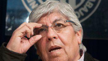 Hugo Moyano, secretario general de la CGT Azopardo.