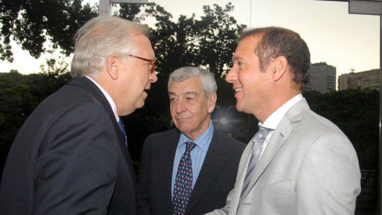 Gutiérrez con José Bordón