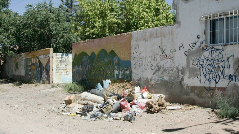 Vista Hermosa es uno de los barrios más insalubres de Centenario.