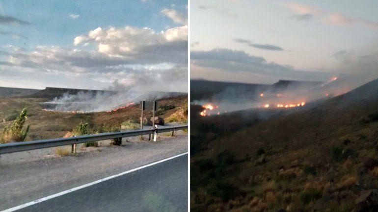 Incendios en La Rinconada