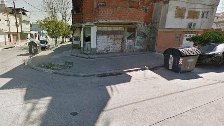 El contenedor donde fue encontrada muerta la beba ayer