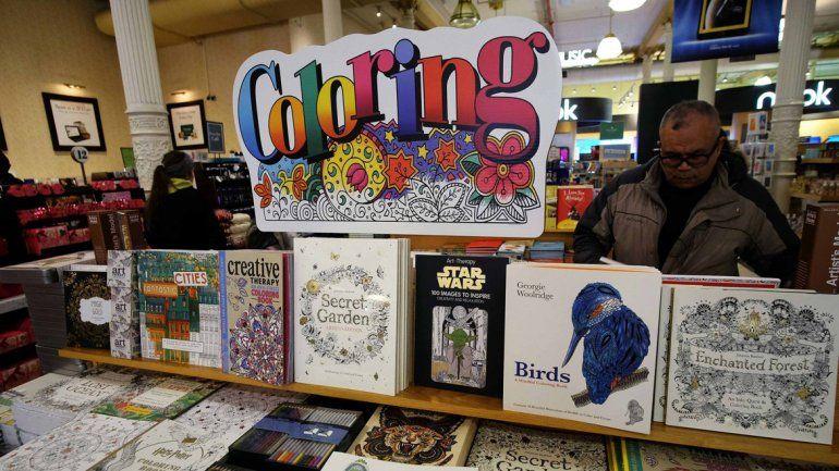 La oferta de libros para colorear para adultos crece cada vez más.