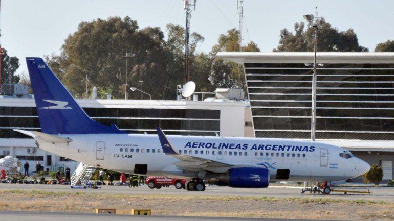 Un paro en Aeroparque afectó vuelos de Aerolíneas a Neuquén