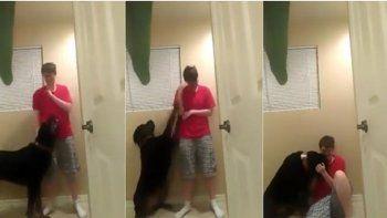 La Policía mató a la mujer que era viral por su perro