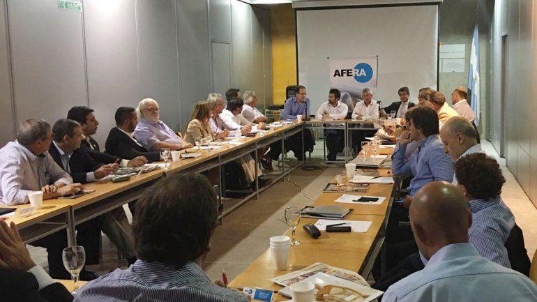 Nueva reunión de los editores de diarios de todo el país