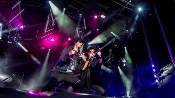 Illya Kuryaki y No Te Va Gustar animaron, el sábado, la noche de rock.